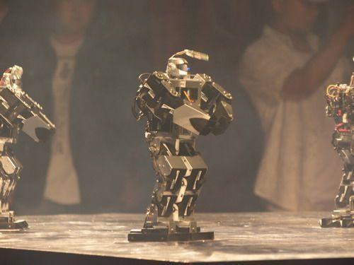 智能机器人表演