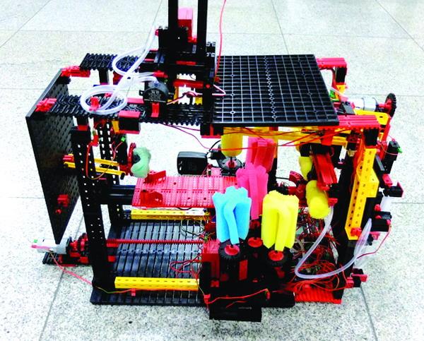 """化""""妙想""""为""""现实""""――我校学生机械创新设计大赛获奖作品扫描"""