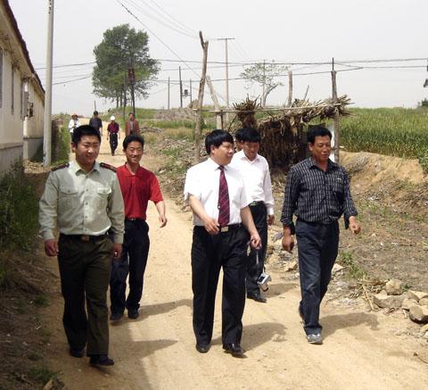 哈工大(威海)积极参与驻地社会主义新农村建设