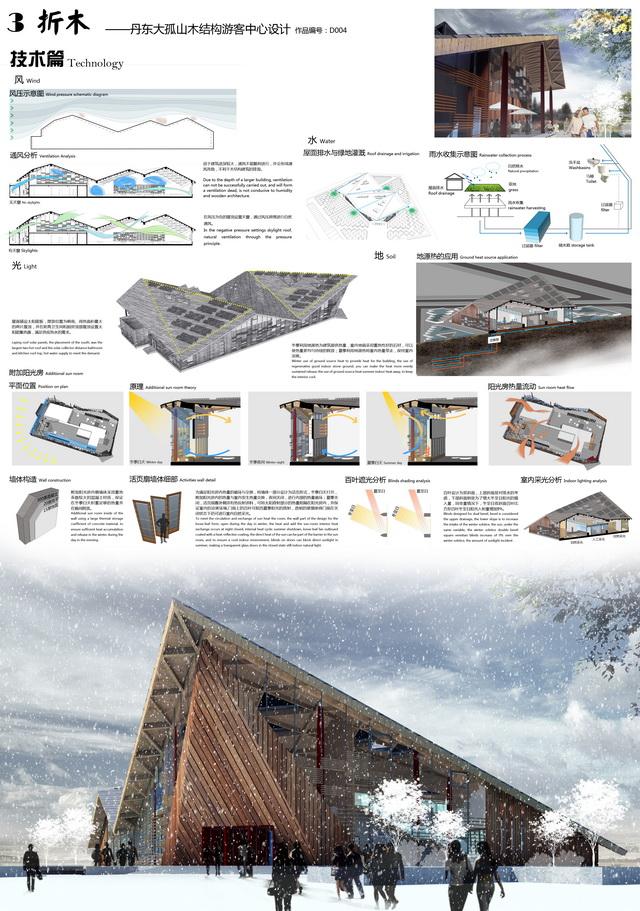 建筑学院学生在中国木结构建筑设计竞赛中力拔头筹