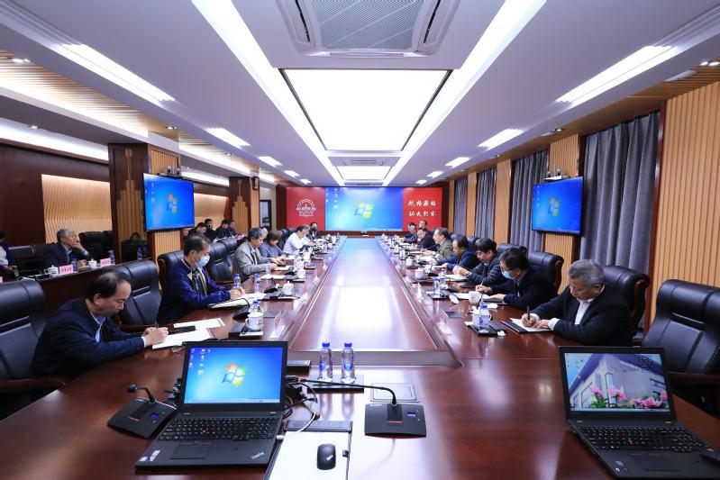 打造更多国之重器 学校召开重大项目研讨会