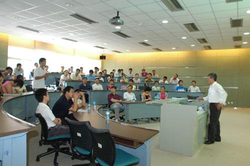 美国关岛大学陈汉涛教授在深圳研究生院作报告